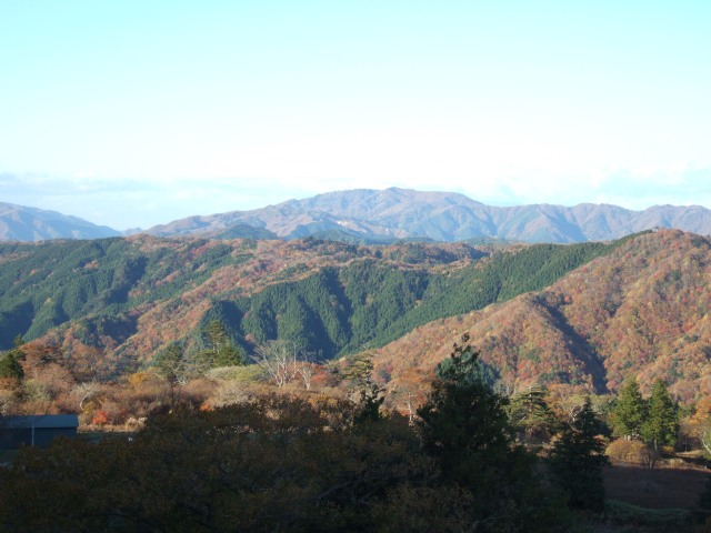 This area is known as the southern alps of Japan.