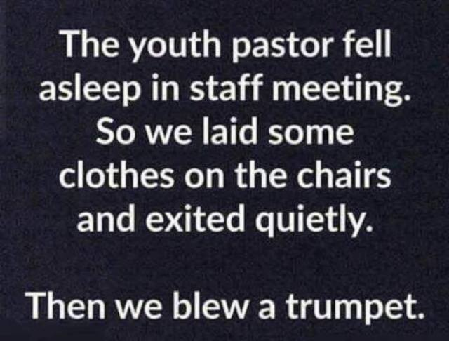 youth pastor sleep